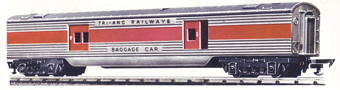 Transcontinental Baggage Car