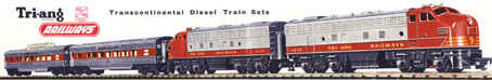 Transcontinental Train Set (Diesel Passenger)