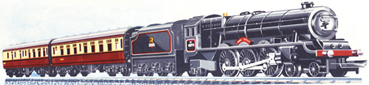 Train Set (Black Princess)
