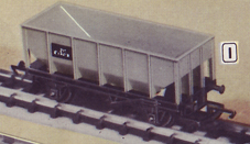 Hornby R8999 2 x Ore Loads for Hornby Coalfish Open Wagons 28mm x 97mm 1st Post