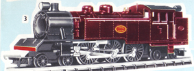 Transcontinental 4-6-4 Tank Locomotive