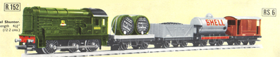 Diesel Goods Train Set