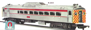 Budd Rail Diesel Car - Transcontinental
