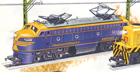 Double-ended Diesel Locomotive With Working Pantographs (TRANSAUSTRALIAN RAILWAYS)