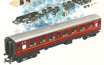 B.R. Buffet Cars x 2 - Assembly Pack
