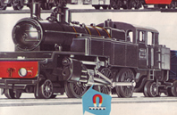 Continental 2-6-2 Prairie Tank Locomotive