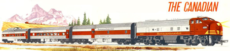 The Canadian Diesel Passenger Set (Canada)