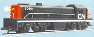 Canadian National Diesel Switcher (Canada)