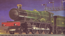 Hall Class Locomotive - Albert Hall