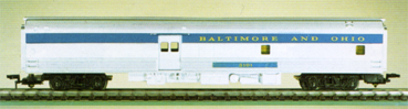 Baltimore & Ohio Baggage/Kitchen Car