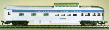 Baltimore & Ohio Observation Car