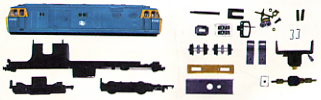 Class 35 Hymek Locomotive - Assembly Pack