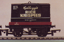 Kelloggs Rice Krispies Container Wagon
