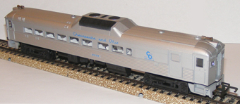 Chesapeake & Ohio Budd Rail Diesel Car - Non Powered