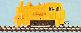 Steam Switcher Locomotive - Chugga (Canada)