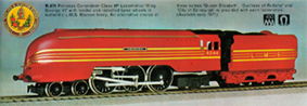Coronation Class 8P Locomotive - King George VI