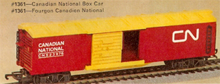 C.N. Box Car With Sliding Doors (Canada)