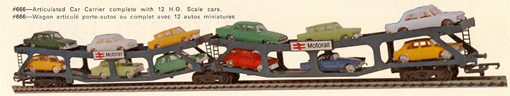 B.R. Cartic Articulated Car Carrier
