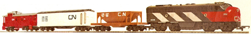 Canadian National Diesel Freight Set (Canada)