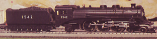 Transcontinental Pacific Locomotive