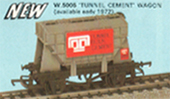 Tunnel Cement Wagon