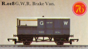 G.W.R. 20 Ton Brake Van - Saltney