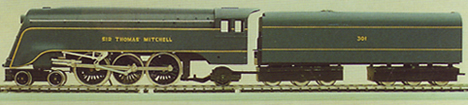 V.R. 4-6-2 Class S Locomotive - Sir Thomas Mitchell