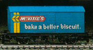 McVities Biscuits Closed Van