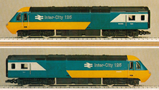 Class 253 HST Power And Dummy Power Car
