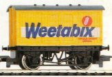 Weetabix Closed Van