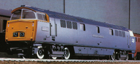 Western Class 52 Locomotive - Western Harrier