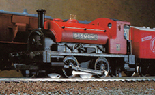 0-4-0 Saddle Tank Locomotive - Desmond