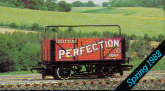 Perfection Wagon with Sheet Rail