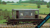 L.N.E.R. 20 Ton Goods Brake Van