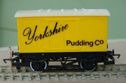 Yorkshire Pudding Company Closed Van