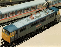 Class 86 Electric Locomotive - The Boys Brigade
