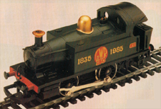 G.W.R. 150 0-4-0T Locomotive