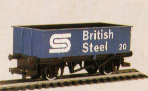 British Steel Open Wagon
