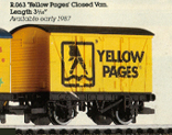 Yellow Pages Closed Van