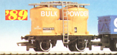 Bulk Powder Twin Silo Wagon