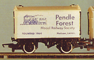 Pendle Forest Model Railway Society Van (White)