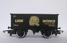 Lion Works Mineral Wagon