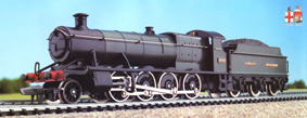 hornby oo spare x6170 2x drawbars for castle 2800,3800 class loco check text