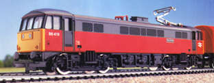 Class 86 Bo-Bo Electric Locomotive - Post Haste