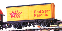 Red Star Parcels Closed Van