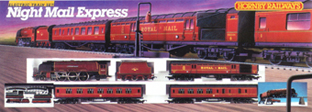 Night Mail Express Train Set
