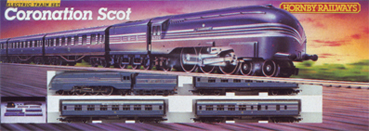 Coronation Scot Train Set