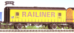 Railiner Curtain Sided Van (PVB)