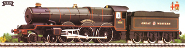 King Class Locomotive - King James II
