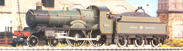 County Class Locomotive - County Of Cornwall